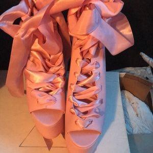 Y.R.U platform heels